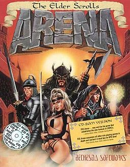 The Elder Scrolls Arena Cover