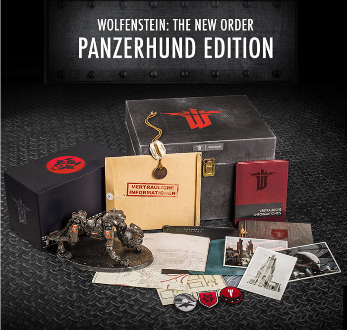 Wolfenstein The New Order Panzerhund Edition